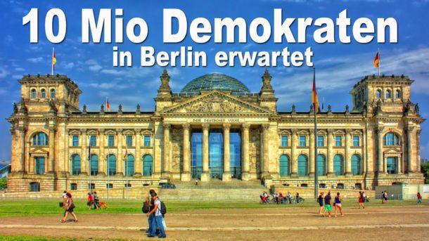 Michael Ballweg,Berlin,Berliner Demo,Querdenken 711