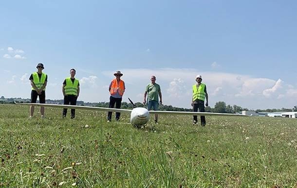 Drohne,Messflugzeug,Presse,News,Medien