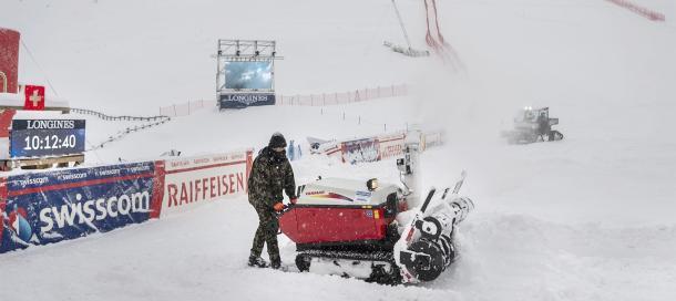 St. Moritz,Sport,Ski,Schneefälle,Presse,News,Medien