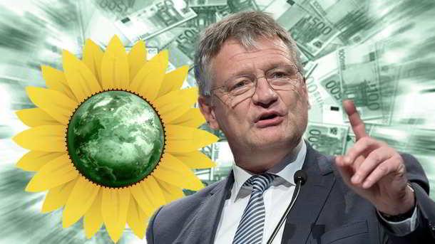 Jörg Meuthen, Grünen,Politik,Presse,Partei