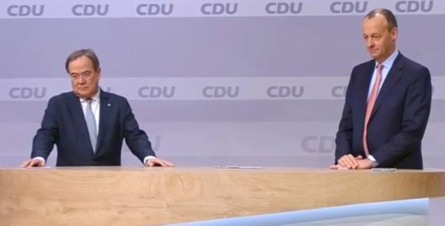 Laschet holt Merz in sein Wahlkampfteam