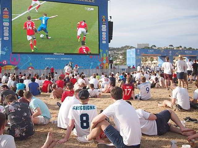 Public Viewing, EM, Sport, Fußball, Presse, News