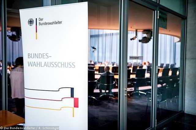 Bundeswahlausschusses,Politik,Presse,News,Medien
