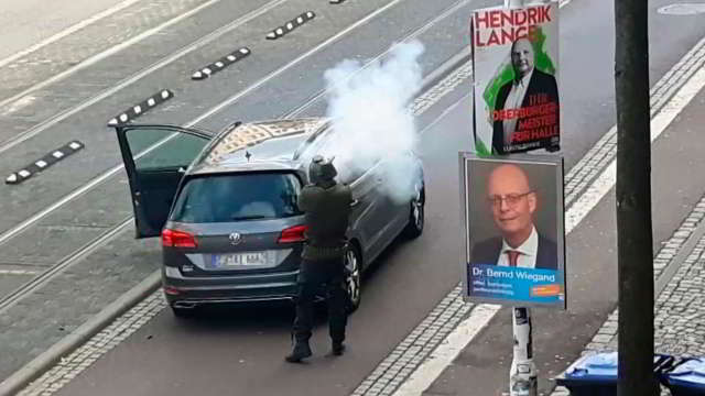 Halle-Attentat – Interne Ermittlungen