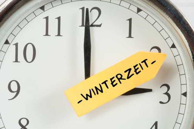 Zeitumstellung, Winterzeit ,News,Medien,Oktober
