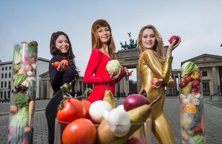 Symbolbild der Messe Fruit Logistica, die im Februar auf dem Berliner Messegelände stattfindet. (Foto: Messe Berlin)