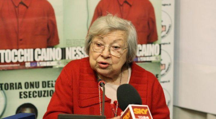 """Lidia Menapace: """"Una persona, un voto"""""""