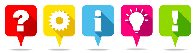 Speechbubbles Question, Work, Idea & Answer