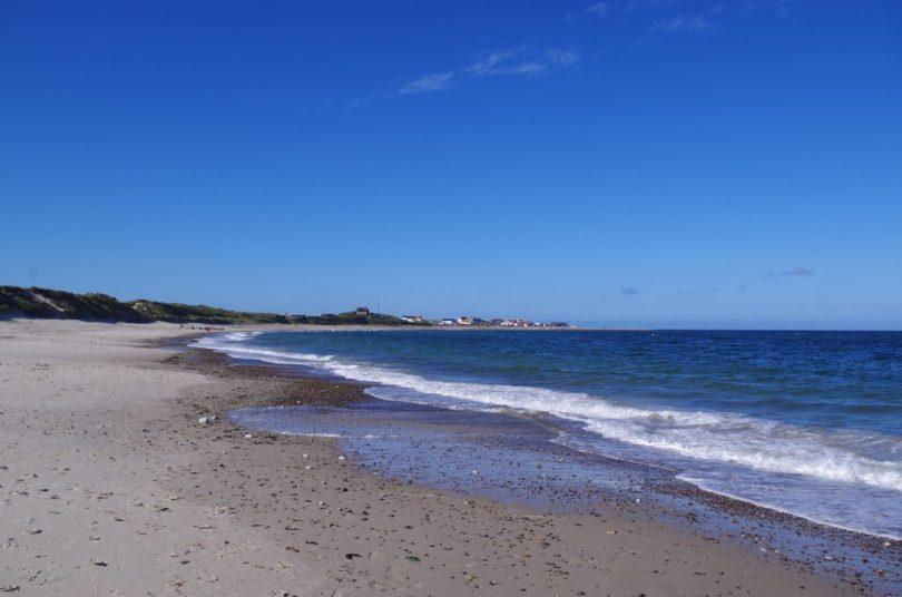 Klitmøller Dänemark Natur-Strand mit Brandung