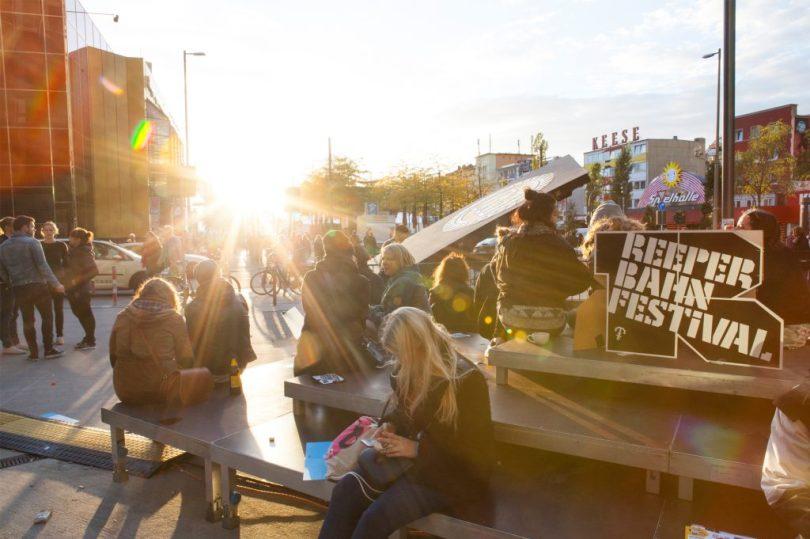 Sonnen auf dem Reeperbahn Festival