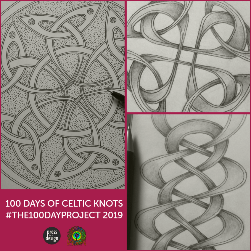 #100daysofcelticknots project finished