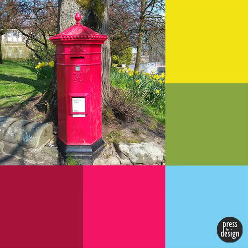 Tuesday Colour Inspiration: Buxton Penfold Postbox