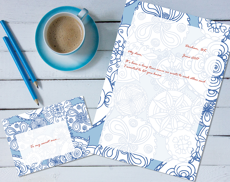 Stationery sets now available for download!