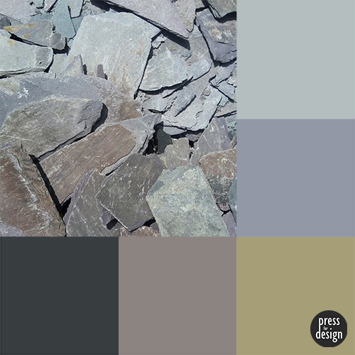 Tuesday Colour Inspiration: broken slates