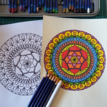 All my free colouring pages in one place!