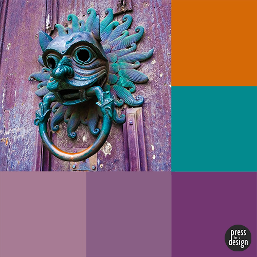 Tuesday Colour Inspiration – Sanctuary Knocker
