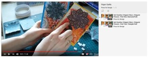 Origami stars and teabag folding tutorial