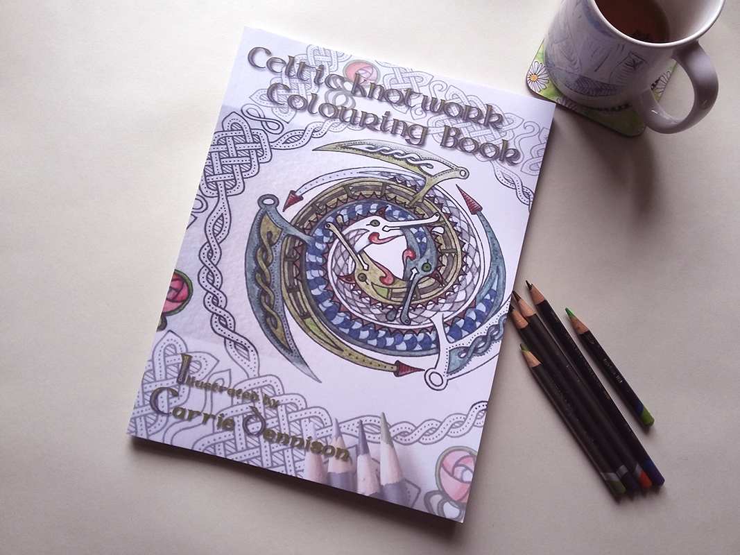 Celtic Knotwork Colouring Book