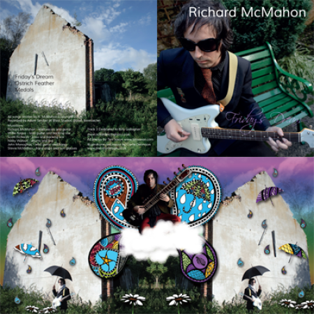 CD cover design for Richard McMahon