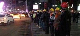 Ermenek protestolarına polis müdahalesi!