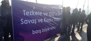 Boğaziçi Köprüsü'nde eylem, 16 kadın gözaltında!