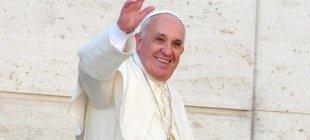 Ak Sarayın ilk konuğu Papa!