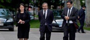 HDP heyetinin Yalçın Akdoğan görüşmesi sona erdi!