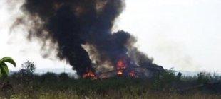 Azerbaycan Karabağ'da Ermeni askeri helikopteri düşürdü!