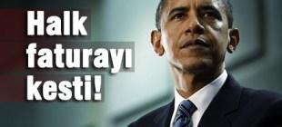 Obama seçimleri kaybetti!