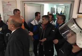 Erciyesspor-Bursaspor maçından ortalık karıştı!