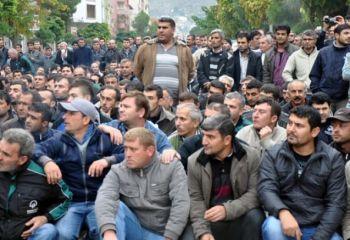 Soma'da 2 bin 800 işçi bugün itibariyle işsiz!