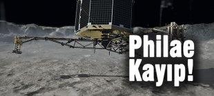 Uzay aracı Philae kayboldu!