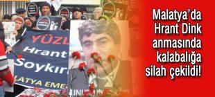 Malatya'da Hrant Dink anmasında kalabalığa silah çekildi!