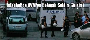 AVM'ye bombalı saldırı girişimi