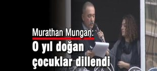 Murathan Mungan Hrant Dink anmasında konuştu