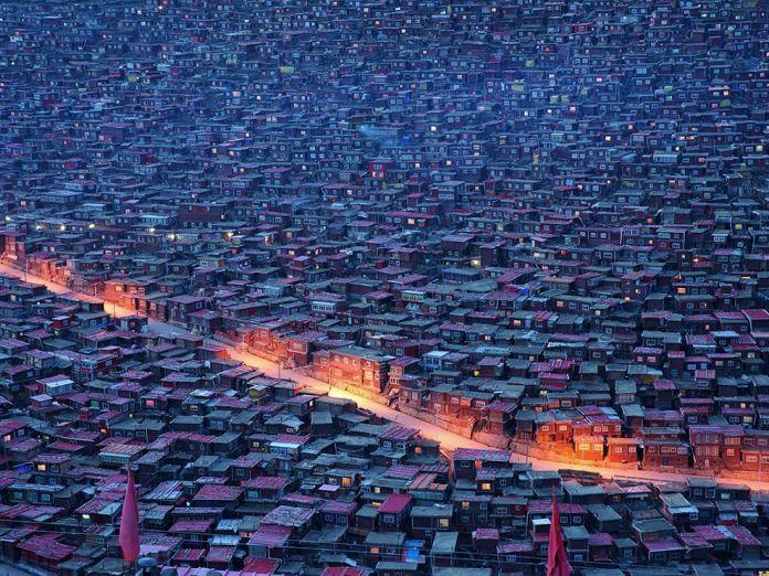 Larung Vadisi - Tibet (14)