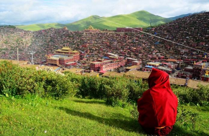 Larung Vadisi - Tibet (2)