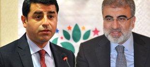 """Demirtaş ve Taner Yıldız'dan açıklama """"Trafo patlaması değil"""""""