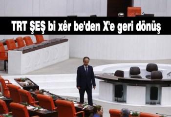 TRT ŞEŞ bi xêr be'den X'e geri dönüş