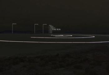 Muazzam bir çalışma: To Scale: The Solar System