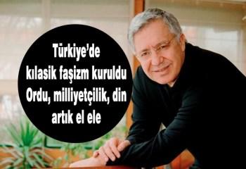 Zülfü Livaneli: Türkiye'de faşizmin klasik sacayağı kuruldu