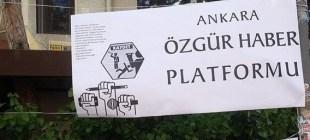 Ankara Özgür Haber Platformu'ndan akademisyenlere destek
