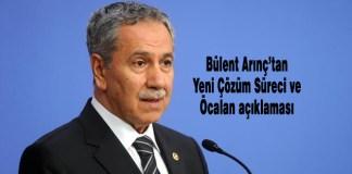 Bülent Arınç, Abdullah Öcalan,