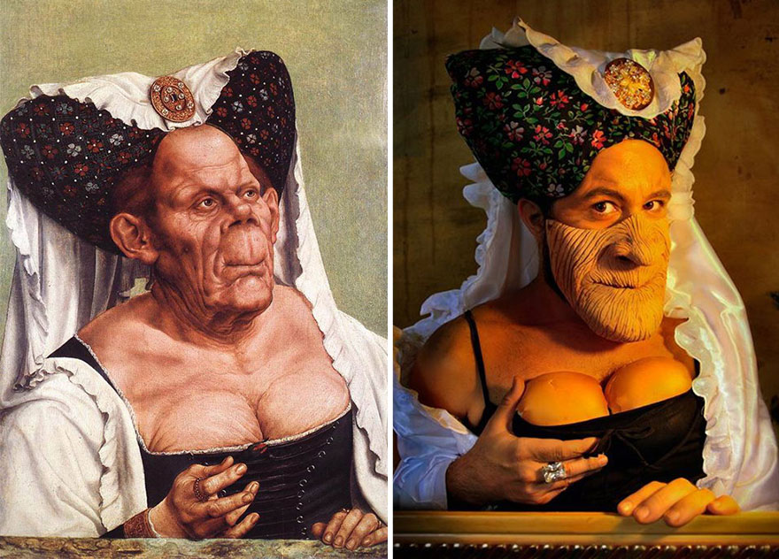 """Ugly Duchess"" by Quentin Matsys"