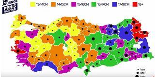 Türkiyenin penis haritası