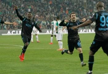 Bursaspor: 0 – Trabzonspor: 1
