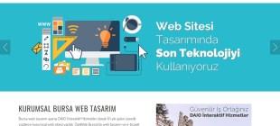 Bursa Web Tasarım Sektörüne Yön Veren Firma Daio İnterkatif