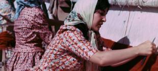 Türkiye'nin tamamı renkli çekilen ilk filmi 'Halıcı Kız', İstanbul Modern Sinema'da