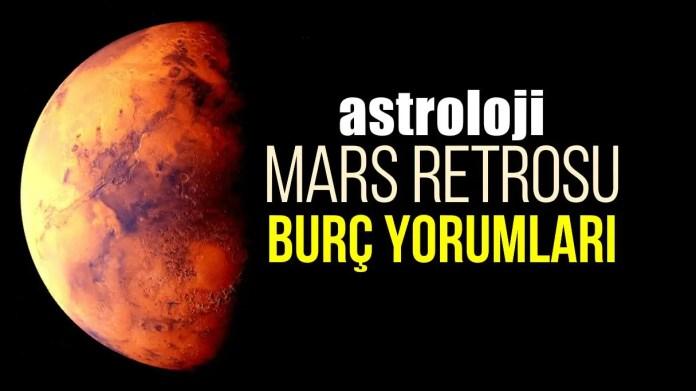 Mars Retrosu burç yorumları