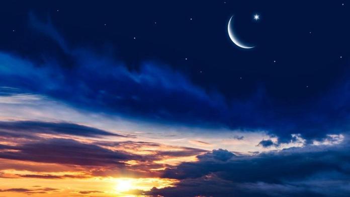 Terazi burcunda süper Yeni Ay